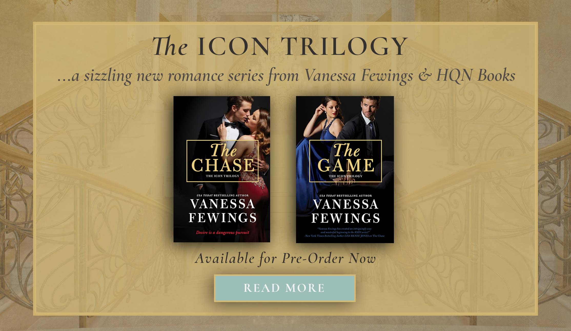 The Icon Trilogy by Vanessa Fewings