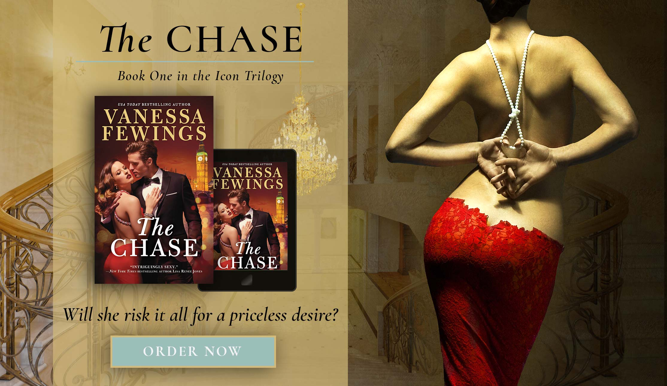 The Chase - book one in the Icon Trilogy by Vanessa Fewings