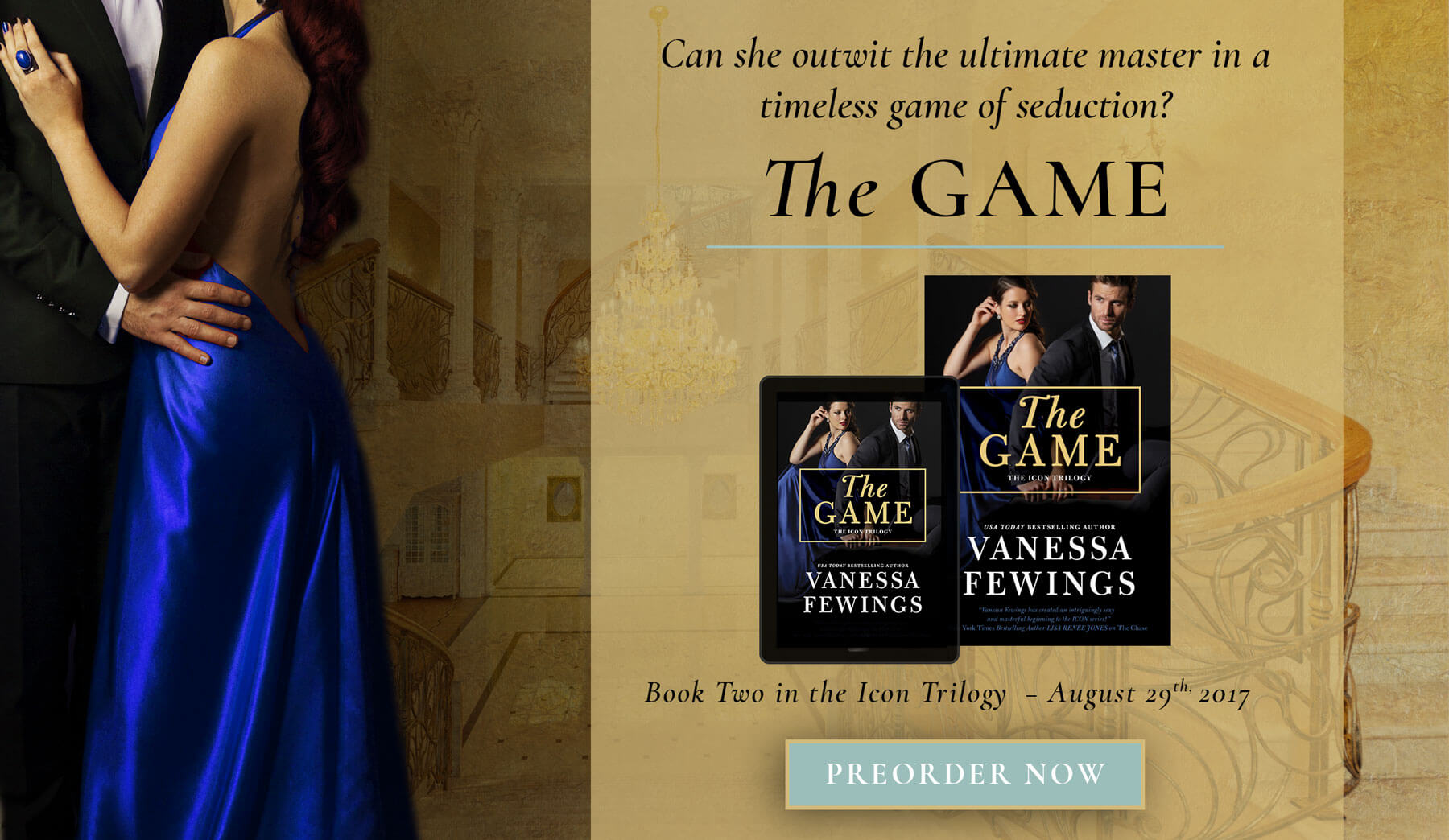 The Game - Book 2 in the Icon Trilogy by Vanessa Fewings