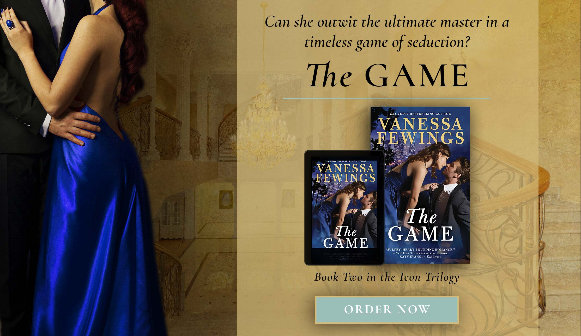 The Game - Book Two in the Icon Trilogy by Vanessa Fewings