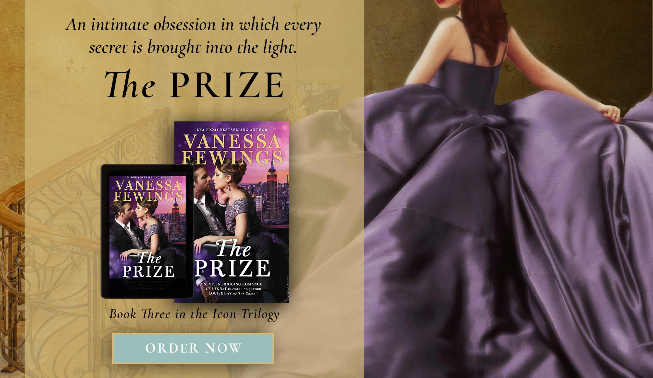 The Prize - book 3 in the Icon Trilogy by Vanessa Fewings