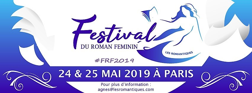 Vanessa Fewings - Paris 2019 - Festival Du Roman Feminin, May 24 & 25 2019